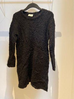 Ganni Wollkleid schwarz