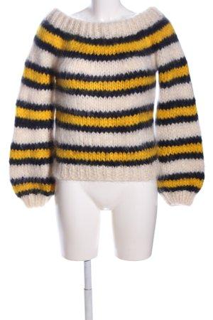 Ganni Maglione di lana stampa integrale stile casual