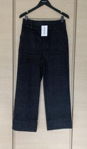 Ganni Woolen Trousers multicolored wool