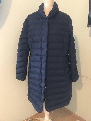 Gant Płaszcz puchowy ciemnoniebieski