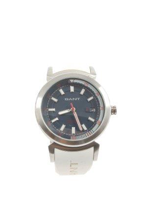 Gant Reloj analógico blanco-color plata look casual