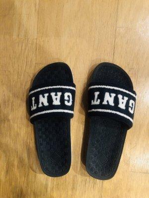 Gant Sandały plażowe biały-ciemnoniebieski