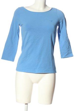 Gant Basic-Shirt blau Casual-Look