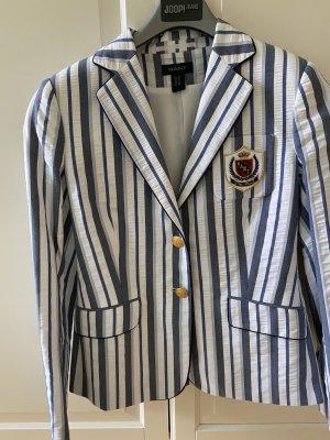 Gant Klassischer Blazer wit-blauw
