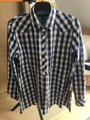Gant Camicia a scacchi bianco-blu