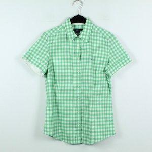 GANT Bluse Gr. 40 grün weiß