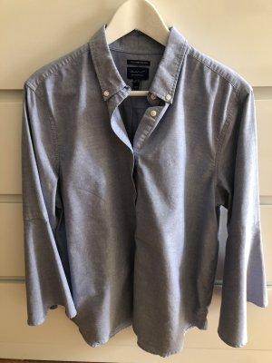 Gant Blusa-camisa azul celeste-azul aciano
