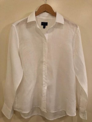 Gant Linen Blouse white linen