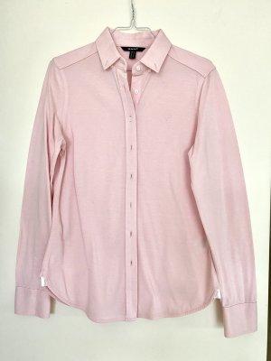 Gant Bluse Oxford Jersey Shirt dezentes Logo Baumwolle rosa roséfarben