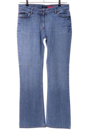 Gant Vaquero de corte bota azul look casual