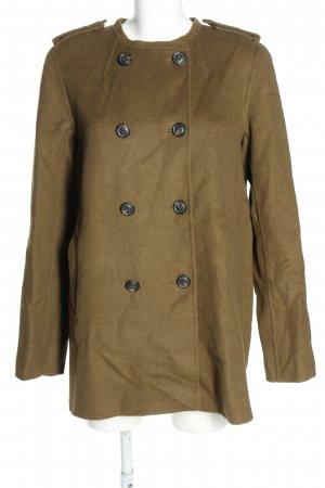 Gant Pea Jacket brown flecked casual look