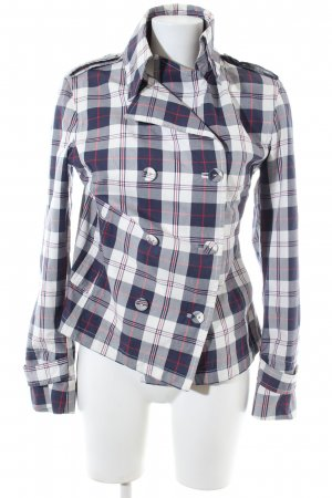 Gant Pea Jacket blue-white allover print casual look