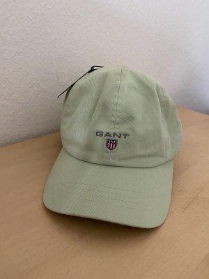 Gant Casquette de baseball vert pâle coton