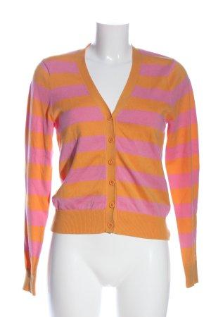 Gant Cardigan pink-hellorange Allover-Druck Casual-Look