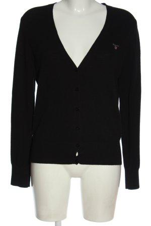 Gant Cardigan schwarz Casual-Look