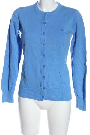 Gant Cardigan bleu style décontracté