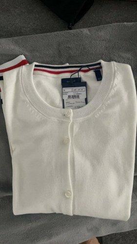 Gant Giacca in maglia bianco sporco-crema Cotone