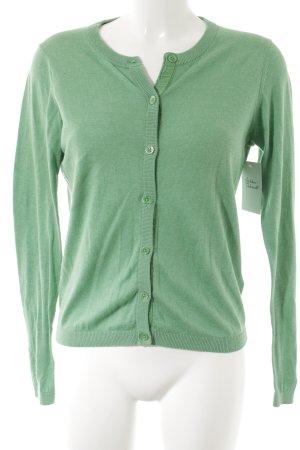 Gant Cardigan grün minimalistischer Stil