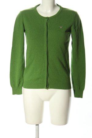 GANT Cardigan Wollpullover grün Casual-Look