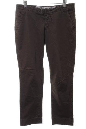 Gant Chinohose braun-silberfarben Casual-Look