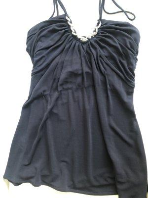 Gant Top senza maniche nero-argento