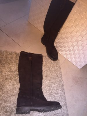 Gant Fur Boots dark brown