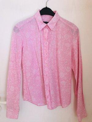 Gant Kołnierzyk koszulowy jasny różowy Bawełna