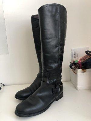 Gant Botas de equitación negro Cuero