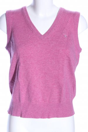 Gant Fine Knitted Cardigan pink flecked casual look
