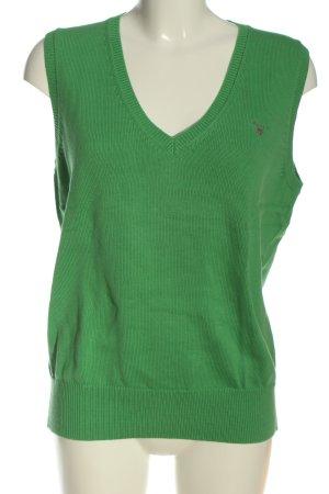 Gant Canotta all'uncinetto verde stile casual