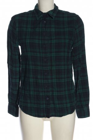 Gant Flannel Shirt green-blue check pattern casual look