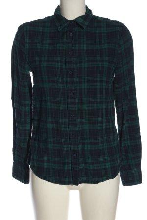 Gant Chemise en flanelle vert-bleu motif à carreaux style décontracté
