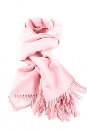 Gant Fringed Scarf pink casual look
