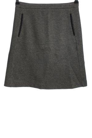 Gant Glockenrock weiß-schwarz Allover-Druck Business-Look