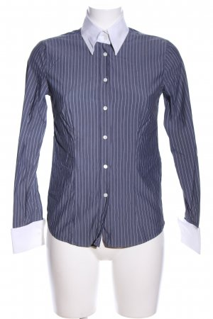 Gant Hemd-Bluse blau-weiß Streifenmuster Casual-Look