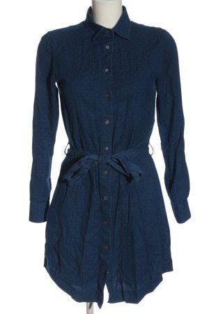 Gant Hemdblusenkleid blau Casual-Look