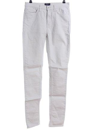 Gant Jeans a vita alta grigio chiaro stile casual