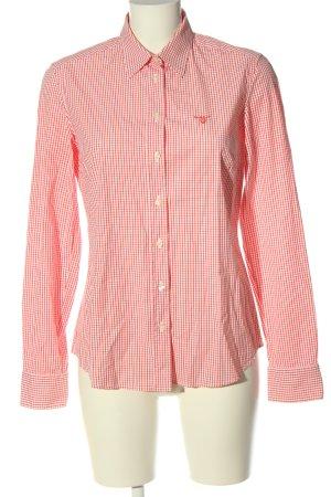Gant Holzfällerhemd rot-weiß Allover-Druck Casual-Look
