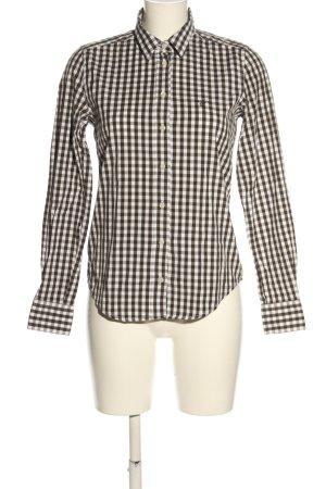 Gant Holzfällerhemd braun-weiß Karomuster Casual-Look
