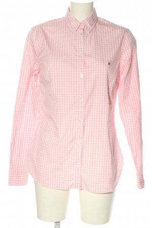 Gant Holzfällerhemd pink-weiß Karomuster Business-Look