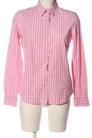 Gant Camisa de leñador rosa-blanco estampado a cuadros look casual