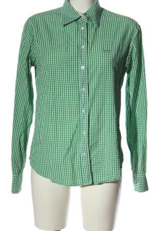 Gant Lumberjack Shirt green-white check pattern casual look