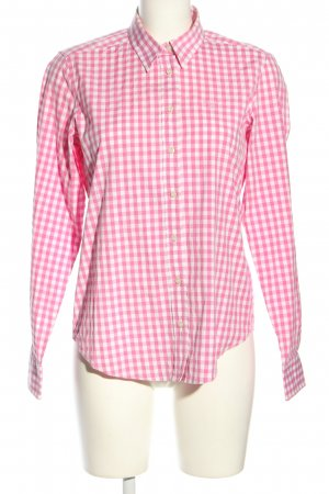 Gant Holzfällerhemd pink-weiß Karomuster Casual-Look
