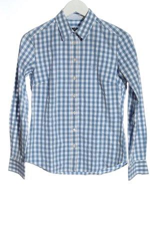 Gant Chemise de bûcheron bleu-blanc motif à carreaux style décontracté