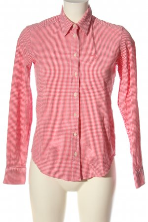 Gant Holzfällerhemd rot-weiß Karomuster Casual-Look