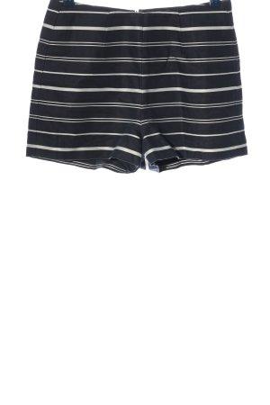 Gant Hot pants nero-bianco motivo a righe stile casual