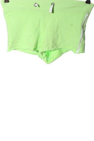 Gant Pantalón corto amarillo pálido-verde letras impresas elegante