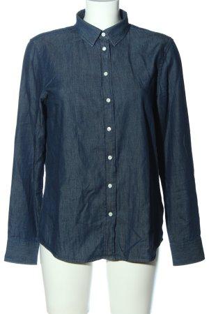 Gant Jeanshemd blau Casual-Look