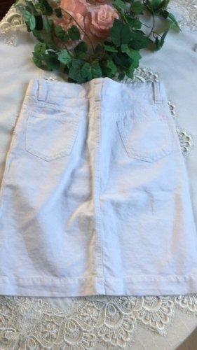 Gant Jupe en jeans blanc