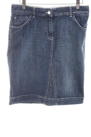 Gant Jeansrock stahlblau Jeans-Optik